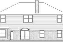 Traditional Exterior - Rear Elevation Plan #84-187