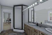 Craftsman Style House Plan - 5 Beds 3 Baths 3223 Sq/Ft Plan #1060-55 Interior - Master Bathroom