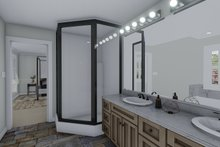 Architectural House Design - Craftsman Interior - Master Bathroom Plan #1060-55