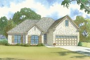 Traditional Style House Plan - 4 Beds 3 Baths 1994 Sq/Ft Plan #923-37 Exterior - Front Elevation