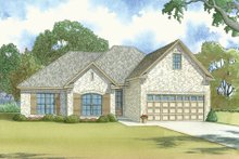 Traditional Exterior - Front Elevation Plan #923-37