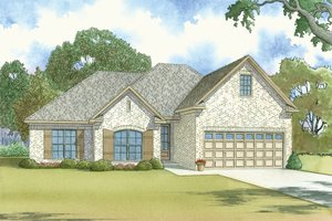 House Plan Design - Traditional Exterior - Front Elevation Plan #923-37