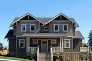 Craftsman Style House Plan - 4 Beds 3.5 Baths 2760 Sq/Ft Plan #434-5 Exterior - Front Elevation