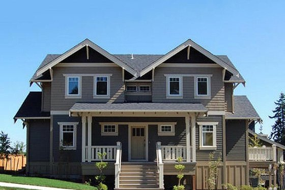 Craftsman Exterior - Front Elevation Plan #434-5