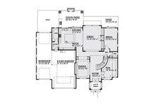 Classical Floor Plan - Main Floor Plan Plan #1066-18