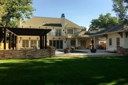 Traditional Style House Plan - 4 Beds 4 Baths 5692 Sq/Ft Plan #451-29 Exterior - Rear Elevation