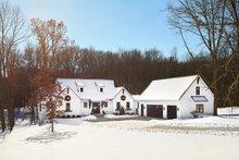 Architectural House Design - Farmhouse Exterior - Front Elevation Plan #928-357