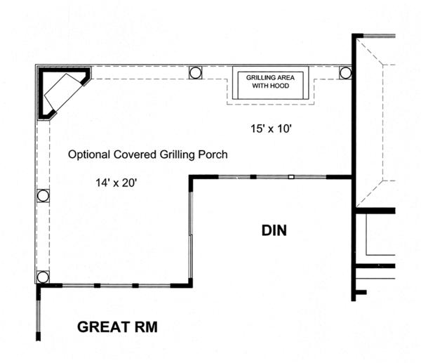 House Plan Design - Craftsman Floor Plan - Other Floor Plan #316-274