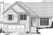 Traditional Style House Plan - 4 Beds 2 Baths 1442 Sq/Ft Plan #67-650