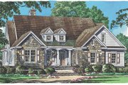 Traditional Style House Plan - 3 Beds 2 Baths 2069 Sq/Ft Plan #929-979 Exterior - Front Elevation