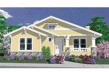 House Plan Design - Country Exterior - Front Elevation Plan #509-188