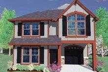 House Plan Design - Prairie Exterior - Front Elevation Plan #509-138