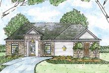 Architectural House Design - European Exterior - Front Elevation Plan #36-554