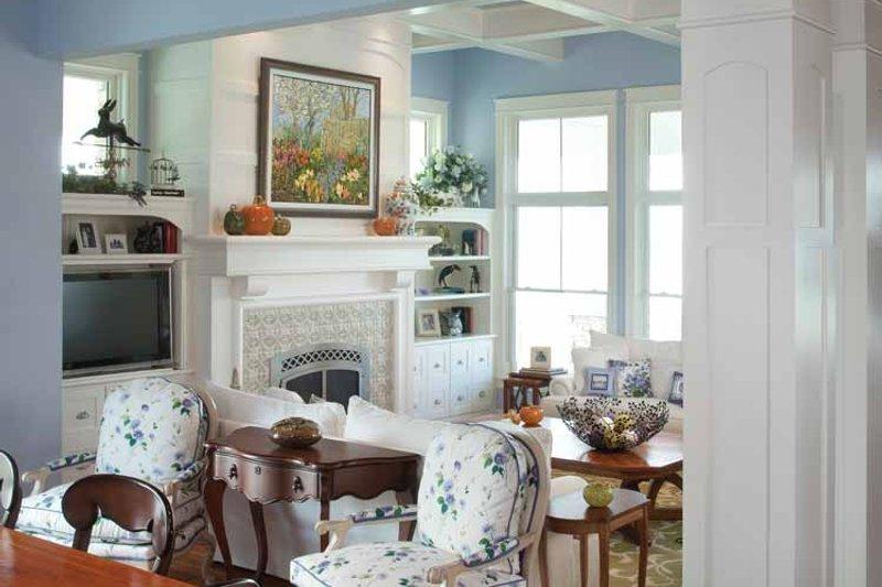 Craftsman Interior - Family Room Plan #928-229 - Houseplans.com