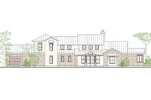 Country Exterior - Front Elevation Plan #80-196