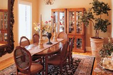 Classical Interior - Dining Room Plan #45-413
