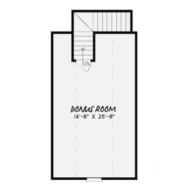 European Floor Plan - Other Floor Plan Plan #17-3369