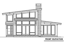 Architectural House Design - Contemporary Exterior - Front Elevation Plan #1070-14