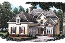 Architectural House Design - Country Exterior - Front Elevation Plan #927-752