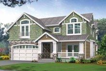 Craftsman Exterior - Front Elevation Plan #132-243