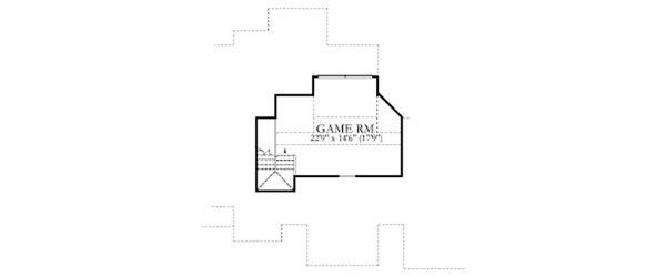 Dream House Plan - Mediterranean Floor Plan - Upper Floor Plan #80-188