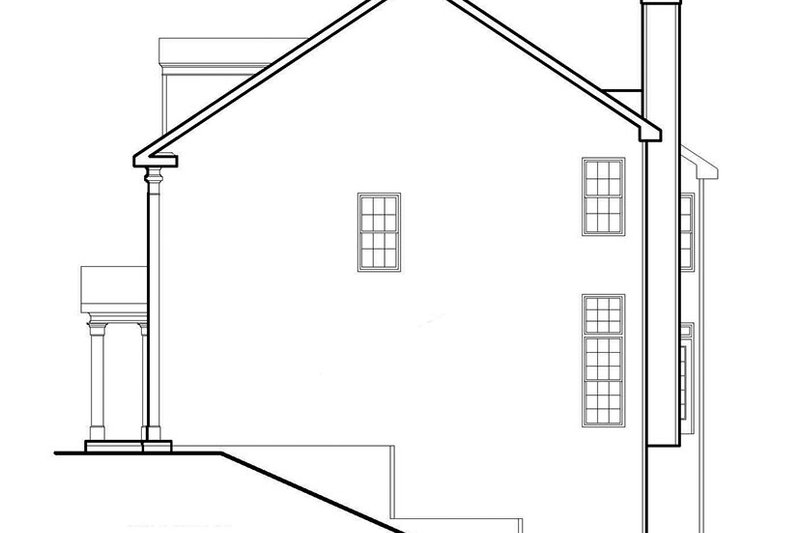 Classical Exterior - Other Elevation Plan #927-614 - Houseplans.com