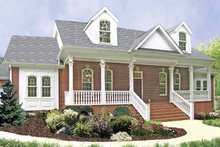 Dream House Plan - Country Exterior - Front Elevation Plan #314-230