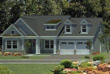 Home Plan - Craftsman Exterior - Front Elevation Plan #316-274