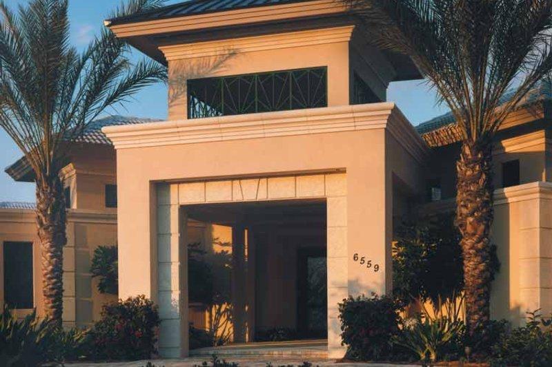 Architectural House Design - Mediterranean Exterior - Front Elevation Plan #930-109