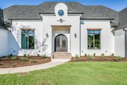 Southern Style House Plan - 4 Beds 3.5 Baths 2765 Sq/Ft Plan #1074-8 Exterior - Front Elevation