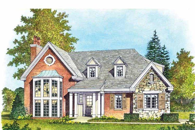 Contemporary Exterior - Front Elevation Plan #1016-99 - Houseplans.com
