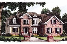 House Plan Design - Colonial Exterior - Front Elevation Plan #927-764