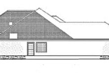 House Plan Design - Mediterranean Exterior - Other Elevation Plan #17-3368