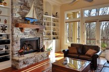 Dream House Plan - European Interior - Family Room Plan #929-21