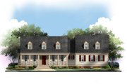 Traditional Style House Plan - 3 Beds 2.5 Baths 1820 Sq/Ft Plan #119-355 Exterior - Other Elevation