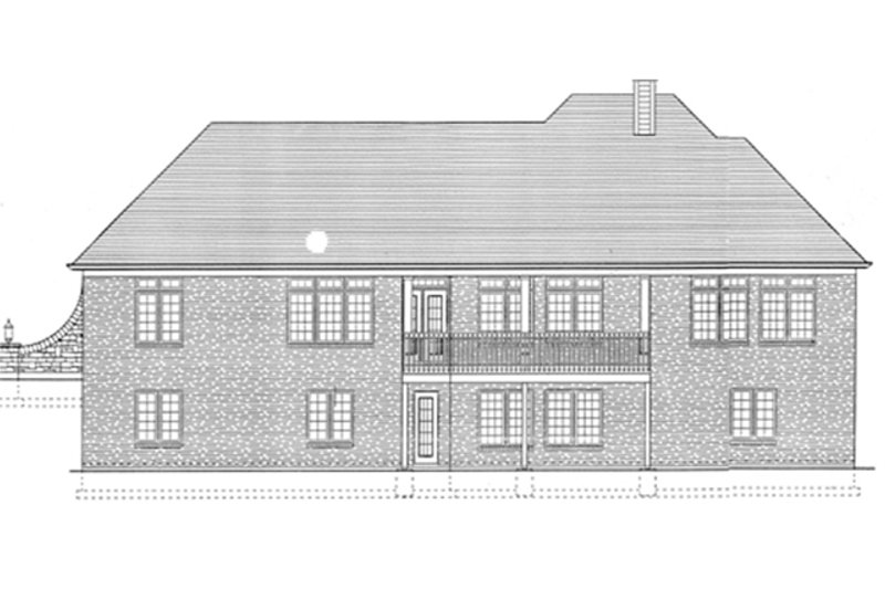 Traditional Home Plan