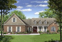 House Plan Design - Country Exterior - Front Elevation Plan #21-245
