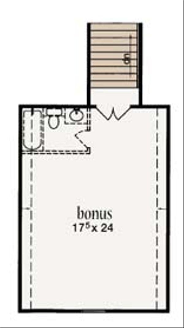 European Floor Plan - Other Floor Plan Plan #36-470
