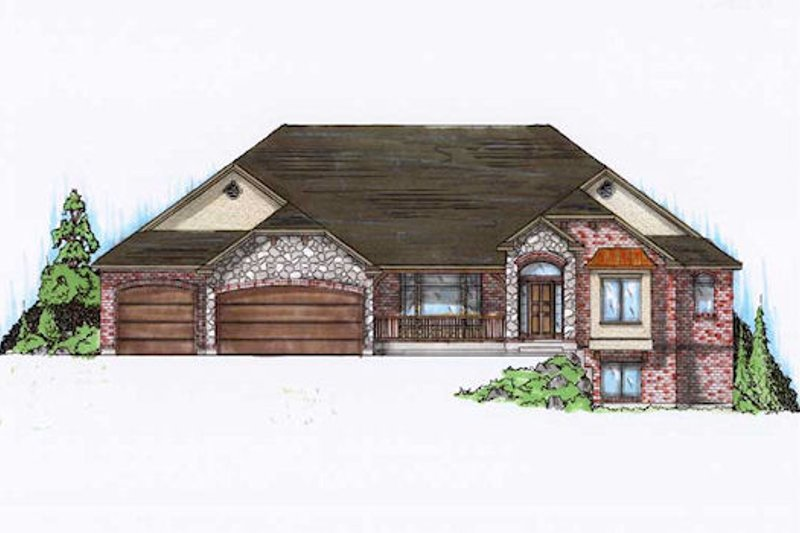 House Plan Design - European Exterior - Front Elevation Plan #5-279