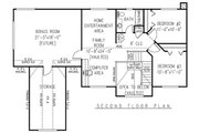Country Style House Plan - 4 Beds 2.5 Baths 2302 Sq/Ft Plan #11-224 Floor Plan - Upper Floor