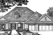 Southern Style House Plan - 4 Beds 3 Baths 2222 Sq/Ft Plan #310-242 Exterior - Front Elevation
