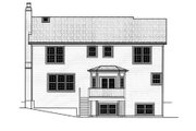 Traditional Style House Plan - 4 Beds 2.5 Baths 2673 Sq/Ft Plan #9-107 Exterior - Rear Elevation