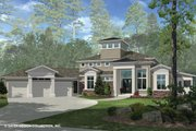 Contemporary Style House Plan - 3 Beds 3.5 Baths 4560 Sq/Ft Plan #930-506