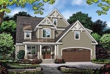 House Plan Design - Cottage Exterior - Front Elevation Plan #929-1121