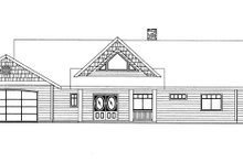 House Plan Design - Contemporary Exterior - Front Elevation Plan #117-849