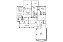 Craftsman Floor Plan - Main Floor Plan Plan #927-2