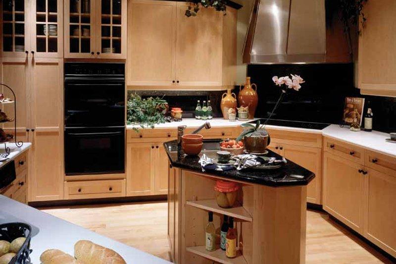 Mediterranean Interior - Kitchen Plan #930-45 - Houseplans.com