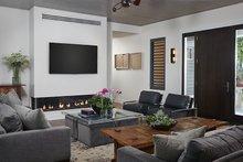 Architectural House Design - Contemporary Interior - Family Room Plan #928-291