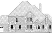 Country Exterior - Front Elevation Plan #437-81