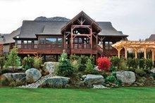 Dream House Plan - Craftsman Exterior - Rear Elevation Plan #132-561